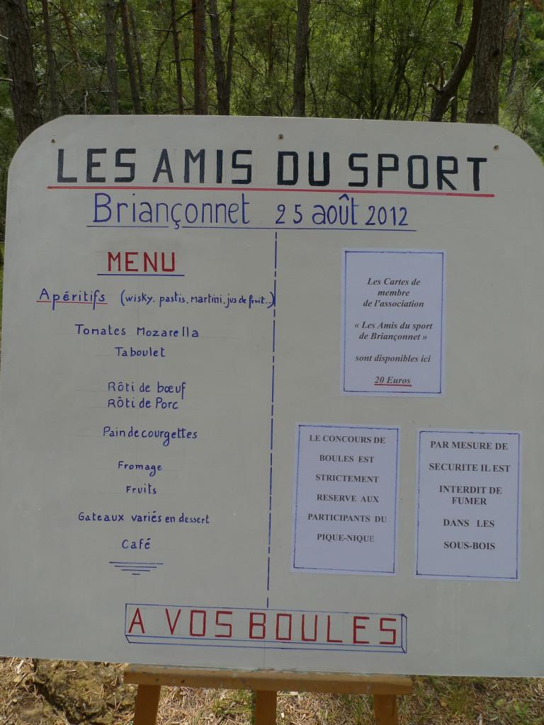 Association des amis du sport de Briançonnet