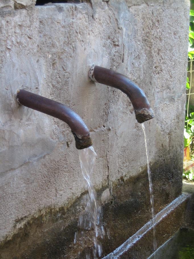 Nettoyage des bassins AVIS DE COUPURE