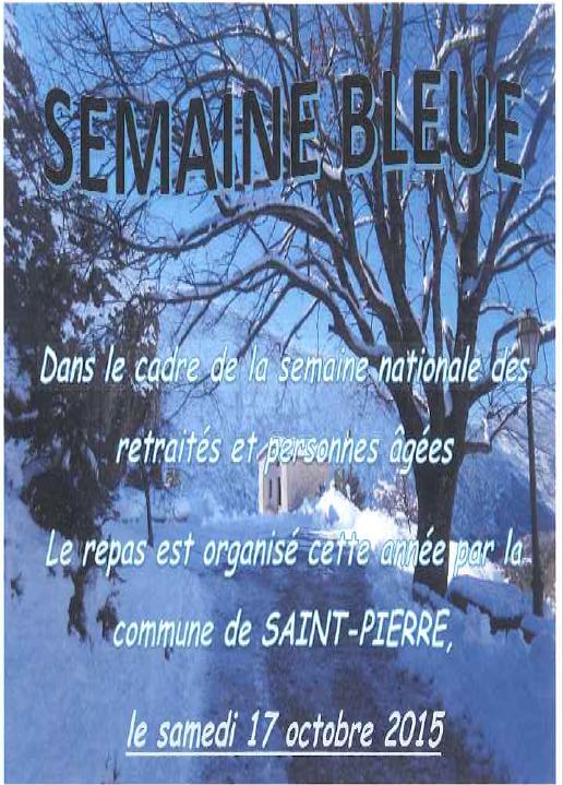 inscription semaine bleu 2015