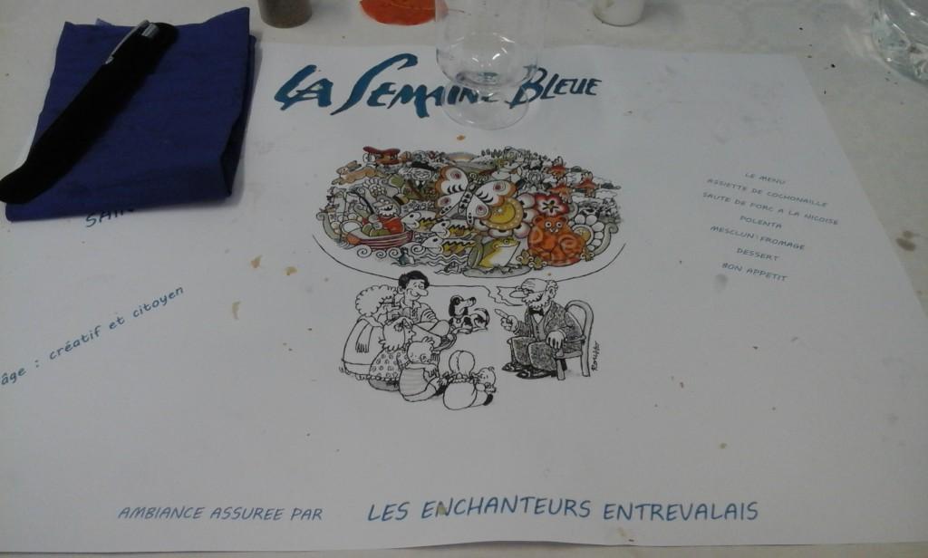 La semaine «Bleue»