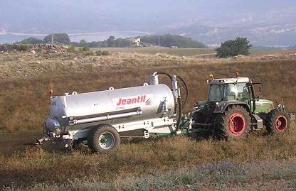 Epandage sylvicole des boues de station d'épuration