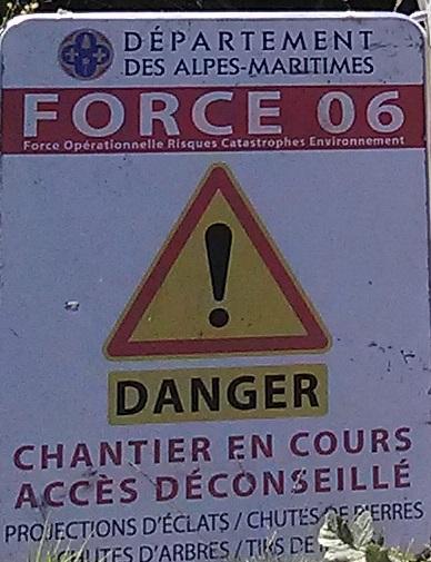 Travaux de débroussaillage La Sagne FORCE 06