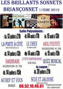 11ème festival les «Brillants Sonnets»