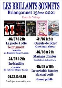 Les Brillants Sonnets 2021 13ème édition